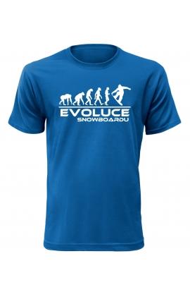 Pánské tričko Evoluce Snowboardu
