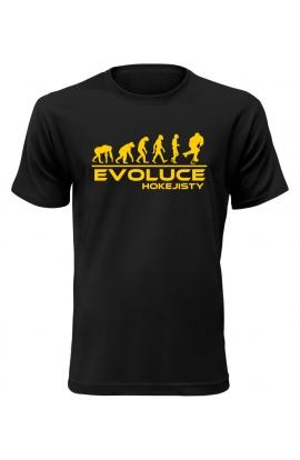 Pánské tričko Evoluce Hokejisty