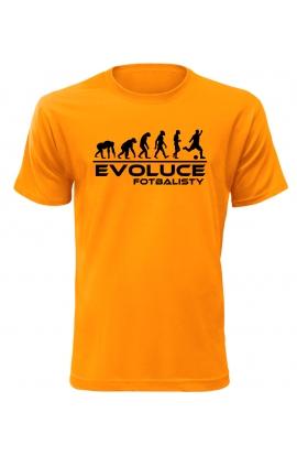 Pánské tričko Evoluce Fotbalisty