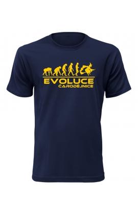 Pánské tričko Evoluce Čarodějnice