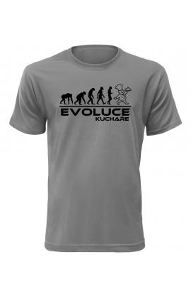 Pánské tričko Evoluce Kuchaře