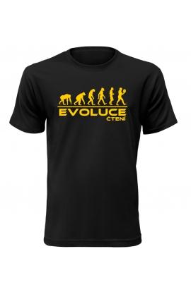 Pánské tričko Evoluce Čtení
