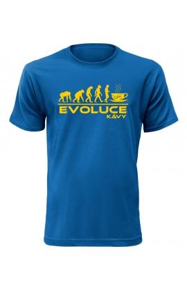Pánské tričko Evoluce Kávy