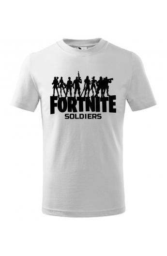 Dětské herní tričko Fortnite Soldiers