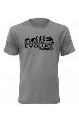 Pánské tričko Evoluce Parkour