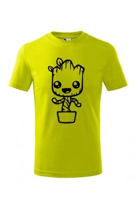 Dětské tričko Groot v květináči