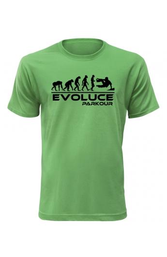 Pánské tričko Evoluce Parkour - TRIOO.CZ - Dodavatel kvalitního zboží. a13c68f1fa