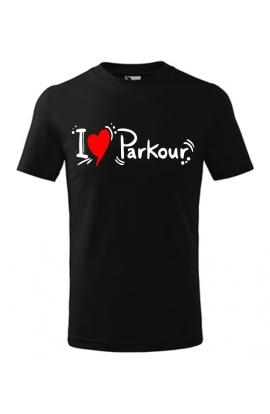 Dětské tričko parkour
