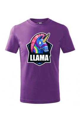 Dětské tričko Fortnite LLAMA