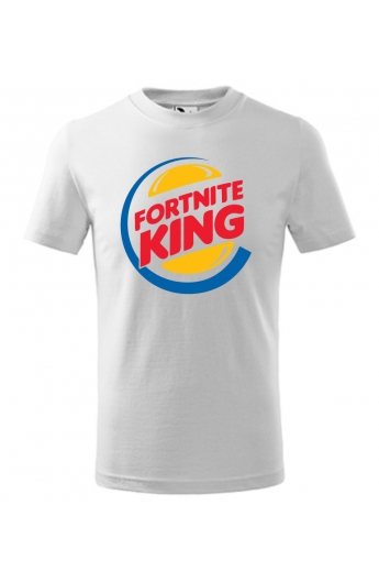 Dětské tričko Fortnite King