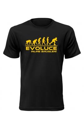 Pánské tričko Evoluce Inline bruslení