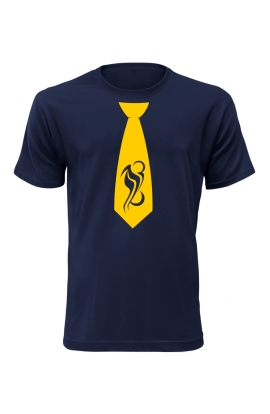 Pánské tričko s kravatou Motorbike