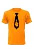 Pánské tričko s kravatou FUCK OFF