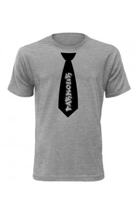Pánské tričko s kravatou Parkour