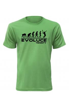 Pánské tričko Evoluce Tenisty