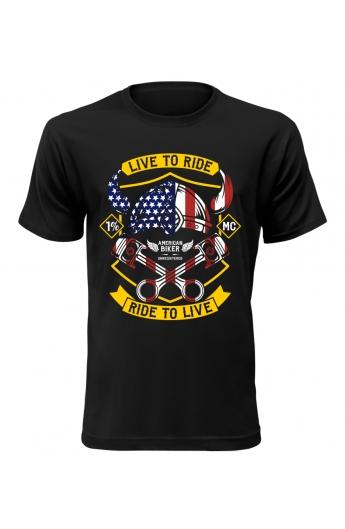 Pánské tričko American Biker