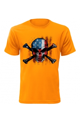 Pánské tričko American Skull