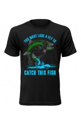 Pánské rybářské tričko Catch This Fish