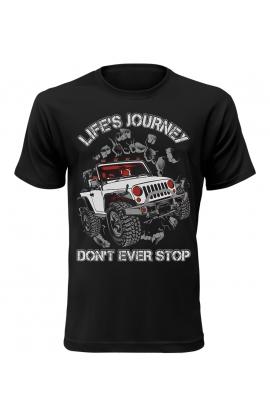 Pánské tričko Life Is Journey