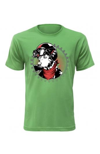 Pánské tričko Reborn to wild
