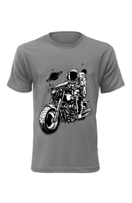 Pánské tričko s moto astronoutem