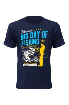 Pánské tričko big day of fishing