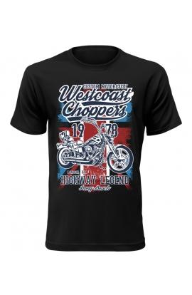 Pánské motorkářské tričko Westcoast Choppers 1978