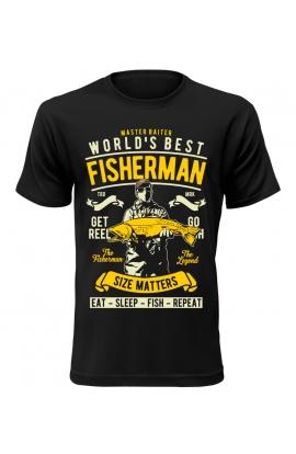 Pánské rybářské tričko best fisherman