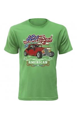 Pánské automobilové tričko Hot Rod