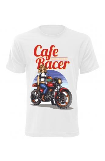 Pánské tričko Cafe Racer