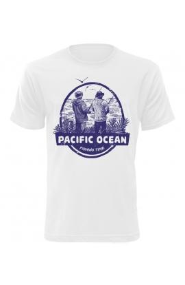 Pánské tričko s rybářským motivem Pacific Ocean