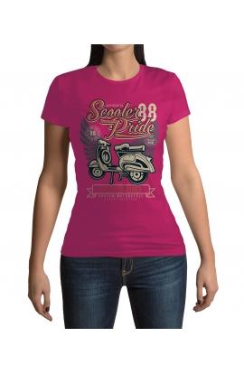 Dámské moto tričko Scooter Rider