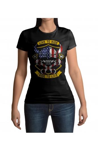 Dámské tričko American Biker