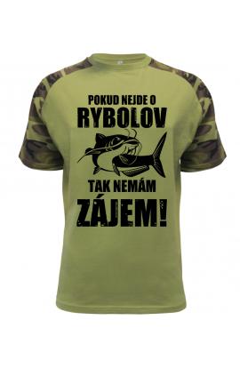 Pánské rybářské tričko Nemám zájem