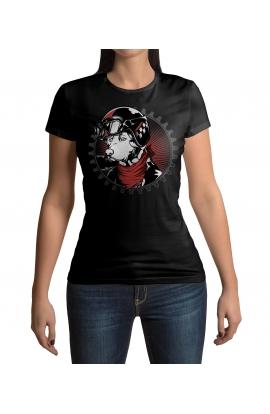 Dámské tričko Reborn to wild