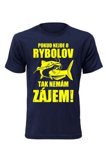 e4f3b6eb5b1 Pánské rybářské tričko Nemám zájem - TRIOO.CZ - Dodavatel kvalitního ...