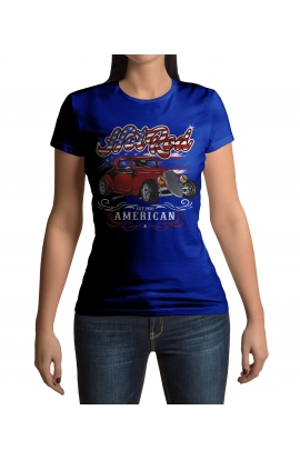 Dámské automobilové tričko Hot Rod