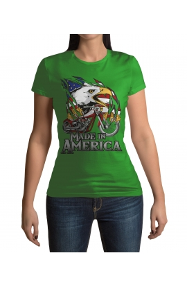 Dámské tričko Made in America