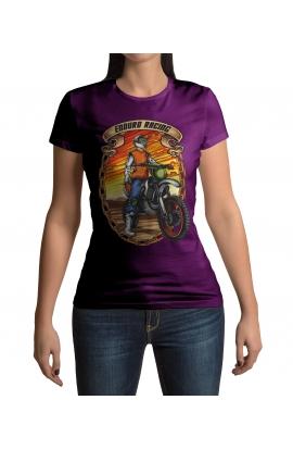 Dámské moto tričko Enduro Racing