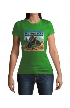 Dámské tričko Ride Your Motorcycle