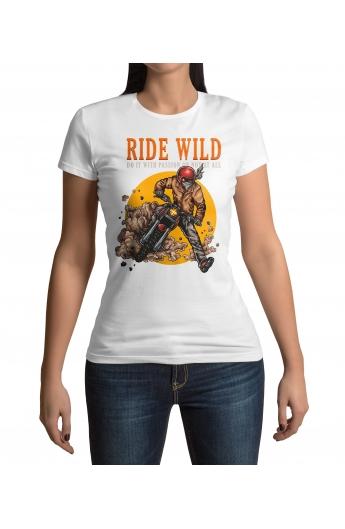 bcff087334e0 Dámské motorkářské tričko Ride Wild