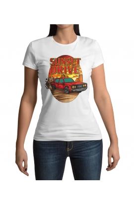 Dámské tričko Sunset Drive