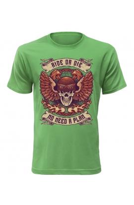 Pánské motorkářské tričko Ride or Die