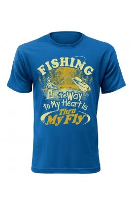 Pánské tričko s rybářským motivem Fishing