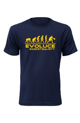 Pánské tričko Evoluce Basketbalisty