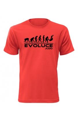 Pánské tričko Evoluce Judo