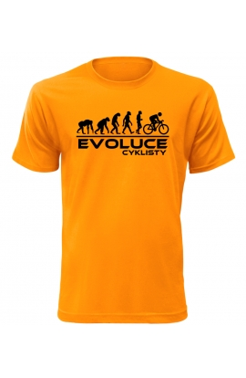 Pánské tričko Evoluce Cyklisty