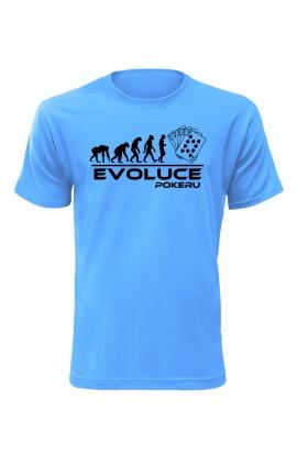 Pánské tričko Evoluce Pokeru