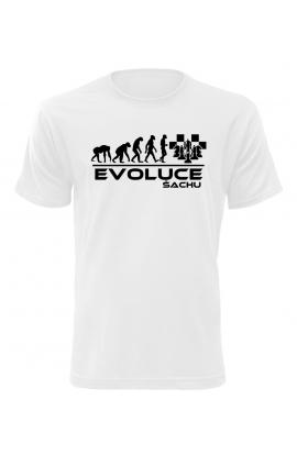 Pánské tričko Evoluce Šachu