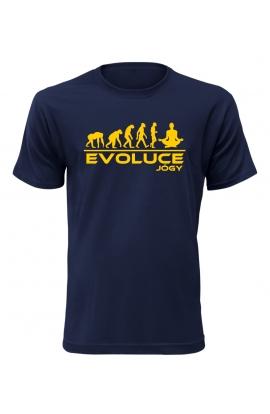 Pánské tričko Evoluce Jógy